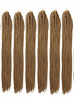 cheap -Braiding Hair Straight Crochet Hair Braids Synthetic Hair 8 pack Hair Braids Natural Color 23 inch 23.23inch(59cm) Party Classic Women Wedding Party Holiday Dress Other
