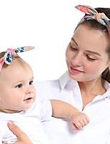 cheap -Kids / Toddler / Newborn Unisex / Girls' Vintage / Sweet Polka Dot Cotton Hair Accessories Blue / Red / Rainbow One-Size