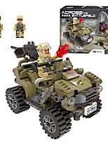 cheap -Building Blocks 332 pcs Military compatible Legoing Simulation Military Vehicle All Toy Gift / Kid's