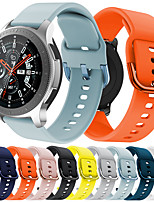 cheap -Watch Band for Samsung Galaxy Watch 46mm Samsung Galaxy Sport Band Silicone Wrist Strap