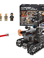 cheap -Building Blocks Military Blocks Vehicle Playset 290 pcs Military compatible Legoing Simulation Military Vehicle All Toy Gift / Kid's / Educational Toy