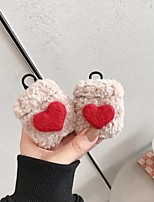 cheap -Case For AirPods Cute / Frosted / Pattern Headphone Case Hard