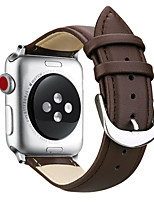 cheap -Watch Band for Apple Watch Series 5/Series 4 / Apple Watch Series 3 / Apple Watch Series 2 Apple Classic Buckle / Business Band Quilted PU Leather Wrist Strap