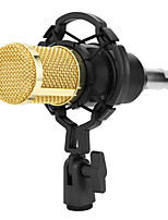 cheap -BM 800 Condenser Microphone Sound Recording Microphone with Shock Support for Radio Braodcasting Voice Recording KTV Karaoke Mic