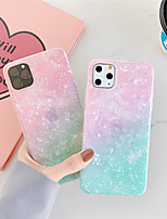 cheap -Case For Apple iPhone 11 / iPhone 11 Pro / iPhone 11 Pro Max Pattern Back Cover Color Gradient TPU X XS XSmax XR 8 8plus 7 7plus 6 6S 6plus 6Splus