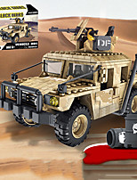 cheap -Building Blocks 469 pcs Military compatible Legoing Simulation Military Vehicle All Toy Gift / Kid's