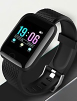 cheap -a6 Unisex Smartwatch Android iOS Bluetooth Heart Rate Monitor Blood Pressure Measurement Sports Exercise Record Information ECG+PPG Pedometer Alarm Clock Chronograph Calendar