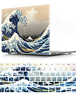 cheap -Mac Keyboard Cover & MacBook Case Eiffel Tower Plastic for New MacBook Pro 15-inch / New MacBook Pro 13-inch / New MacBook Air 13 2018