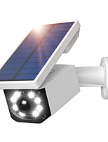 cheap -Fake Camera Solar Power Outdoor Simulation Dummy Camera Waterproof Security CCTV Surveillance Bullet With Flashing LED Light