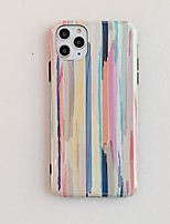 cheap -Case for Apple scene map iPhone 11 X XS XR XS Max 8 Aurora Rainbow pattern thickened TPU material IMD process all-inclusive mobile phone case BC