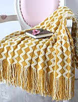 cheap -Multifunctional Blankets, Geometric Acrylic Fibers Tassel Comfy Blankets