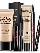 cheap -5pcs/set Cosmetics Kit BB Cream Isolation Cream Concealer Eyebrow Pencil Eyeliner Mascara Complete Women Make Up Set