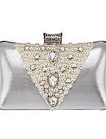 cheap -Women's Crystals / Pearls Alloy Evening Bag Gold / Silver