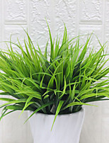 cheap -Artificial Flower Water Plant 1 Branch Spring Grass Plant Wall Outdoor Decoration