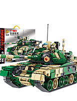 cheap -Building Blocks 1773 pcs Military compatible Legoing Simulation Tank All Toy Gift / Kid's