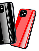 cheap -Luxury Tempered Glass Phone Case For iphone 11 Pro Max XR XS Max X 8 Plus 7 Plus 6 Plus Shockproof Back Cover Soft TPU edge Protective