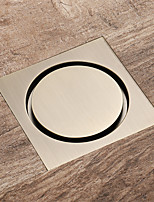 cheap -Drain antique\Gold\ Champagne Gold\Rose Gold\Chrome color Brass 4inch Floor mounted bathroom