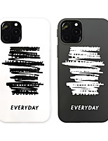 cheap -Case For Apple iPhone 11 / iPhone 11 Pro / iPhone 11 Pro Max Pattern Back Cover Word / Phrase TPU X XS XSmax XR 7 7plus 8 8plus 6 6s 6plus 6splus