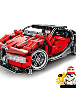 cheap -Building Blocks 422 pcs Race Car compatible Legoing Simulation Race Car All Toy Gift / Kid's