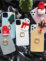 cheap -Case For Apple iPhone 11 / iPhone 11 Pro / iPhone 11 Pro Max Pattern / Glitter Shine Back Cover Cartoon / Glitter Shine TPU for iPhone 6  6 Plus  6s 6s plus 7 8 7 plus 8 plus X XS XR XS MAX