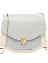 cheap -Women's Chain PU Crossbody Bag Black / Blushing Pink / Blue