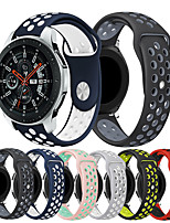 cheap -Smartwatch Band for Samsung Galaxy 46 / Gear S3 /S3 classic /S3 Frontier / Gear 2 R380/ 2 Neo R381/ sport Band Fashion Soft comfortable Silicone Wrist Strap 22mm