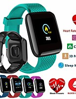 cheap -Men's Smartwatch Digital Sporty Stylish Silicone Black / Blue / Red 30 m Heart Rate Monitor Bluetooth Smart Digital Casual Outdoor - Black Green Red One Year Battery Life