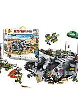 cheap -Building Blocks 1336 pcs Military compatible Legoing Simulation Tank All Toy Gift / Kid's