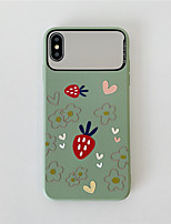 cheap -Case For Apple iPhone 11 / iPhone 11 Pro / iPhone 11 Pro Max Mirror / Pattern Back Cover Food TPU for iPhone X XS XR XS MAX 8 8PLUS 7 7PLUS 6 6PLUS 6S 6S PLUS