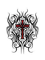 abordables -3 pcs tatouages temporaires résistant à l'eau / jetable visage / corps autocollant de transfert d'eau autocollants de tatouage
