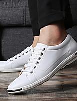 abordables -Homme Chaussures de confort Microfibre Printemps / Automne hiver Rétro Vintage / Simple Basket Marche Respirable Noir / Blanche / Jaune / Soirée & Evénement