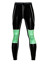 cheap -JACK CORDEE Men's Compression Pants Cycling Pants Bike Bottoms Breathable Quick Dry Sweat-wicking Sports Orange / Green Mountain Bike MTB Road Bike Cycling Clothing Apparel Form Fit Bike Wear