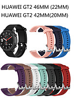 cheap -Watch Band for Huawei Watch GT2 46mm / Huawei Watch GT2 42mm Huawei Sport Band / Business Band Silicone Wrist Strap