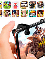 abordables -2pcs / lot l1 r1 déclencheur de jeu jeux de téléphone intelligent tireur contrôleur bouton de tir poignée pour pubg / règles de survie / couteaux