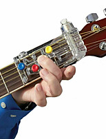 cheap -Guitar Learning System Teaching Aid Fingerboard Notes Map Accessories Guitar Music Learning Beginners With Four Finger Protector