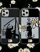 abordables -coque pour apple iphone 11 / iphone 11 pro / iphone 11 pro max motif coque arrière fleur tpu x xs xsmax xr 8 8plus 7 7plus 6 6s 6plus 6splus