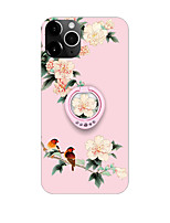 abordables -Coque Pour Apple iPhone 11 / iPhone 11 Pro / iPhone 11 Pro Max Antichoc / Avec Support Coque Fleur TPU