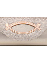cheap -Women's PU Clutch Solid Color Black / Blushing Pink / Gold