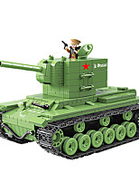 cheap -Building Blocks 818 pcs Military compatible Legoing Simulation Tank All Toy Gift / Kid's