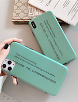 cheap -Case For Apple iPhone 11 / iPhone 11 Pro / iPhone 11 Pro Max IMD / Pattern Back Cover Word / Phrase TPU for iPhone X XS XR XS MAX 8 8PLUS 7 7PLUS 6 6PLUS 6S 6S PLUS