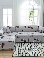 cheap -British Style Print Dustproof All-powerful Slipcovers Stretch L Shape Sofa Cover Super Soft Fabric Couch Cover with One Free Pillow Case