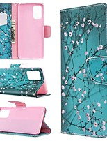 cheap -Case For Samsung Galaxy S10 / Galaxy S10 Plus / Galaxy S10 E Wallet / Card Holder / with Stand Full Body Cases Flower PU Leather For Galaxy S11/S11E/S11 Plus/Note 10 Plus/A20E/A71/A51