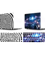 cheap -Mac Keyboard Cover & MacBook Case sky / Geometric Pattern Plastic for New MacBook Pro 15-inch / New MacBook Pro 13-inch / New MacBook Air 13 2018