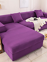 cheap -Nordic Simple Solid Color Elastic Sofa Cover Full Package Single Double Three Person Sofa Cover