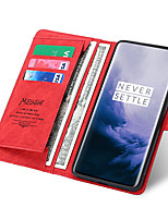 cheap -Case For LG LG V40 / LG Stylo 4 / LG Stylo 5 Wallet / Card Holder / Shockproof Full Body Cases Solid Colored PU Leather