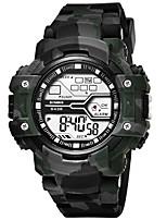 cheap -SYNOKE Digital Watch Digital Sporty Stylish Silicone 30 m Water Resistant / Waterproof Calendar / date / day LCD Digital Outdoor Fashion - Green Blue Gray