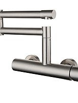 cheap -Kitchen faucet - Single Handle One Hole Electroplated Pot Filler Centerset Contemporary Kitchen Taps