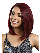 cheap -Synthetic Wig Curly Asymmetrical Wig Long Watermelon Red Synthetic Hair 27 inch Women's Best Quality Burgundy