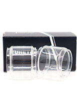 cheap -YUHETEC Fat Glass tube for GEEKVAPE CREED RTA 6.5ml Atomizer 2PCS