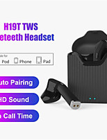 cheap -H19T 5.0 Bluetooth Earphone Bass Stereo Wireless Headphones True TWS Wireless Earphones Earbuds For iOS Android Headset Earpiece